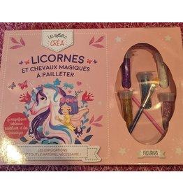La Licornerie Licornes et chevaux magiques à pailleter