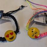 La Licornerie Bracelet d'amitié ajustable Émoji