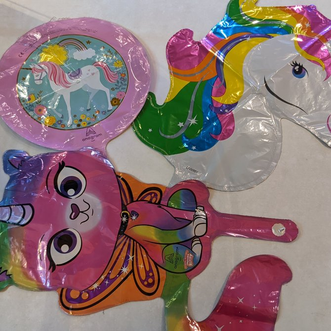 La Licornerie Unicorn Foil Balloon