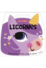 Livre Jeux et coloriages de licornes
