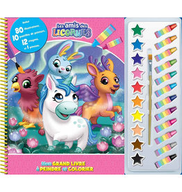 Unicorn Colouring  and Painting Book