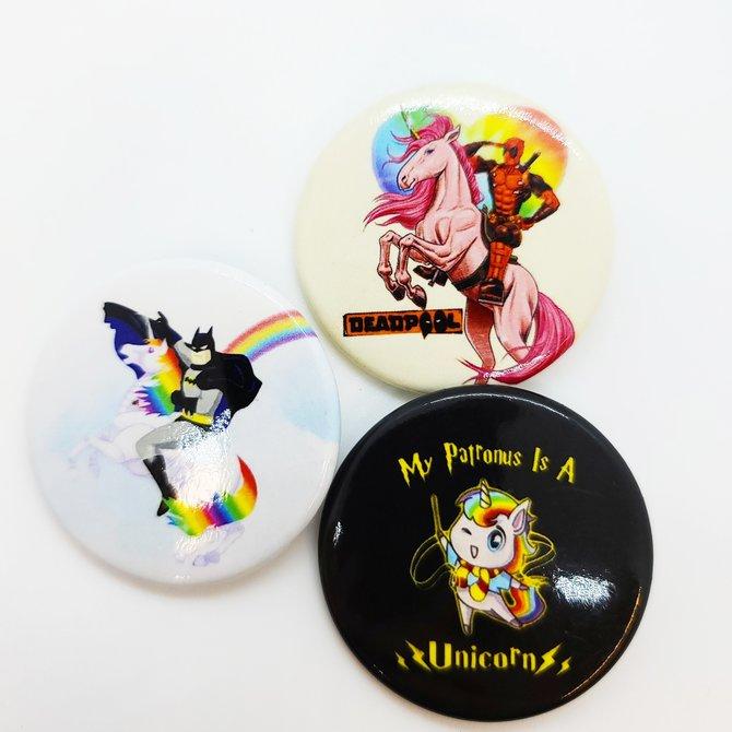La Licornerie ♥♥ Macaron 1.75''
