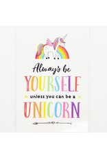 ♥♥ Unicorn Post Card