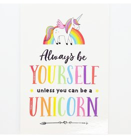 ♥♥ Unicorn Post Card