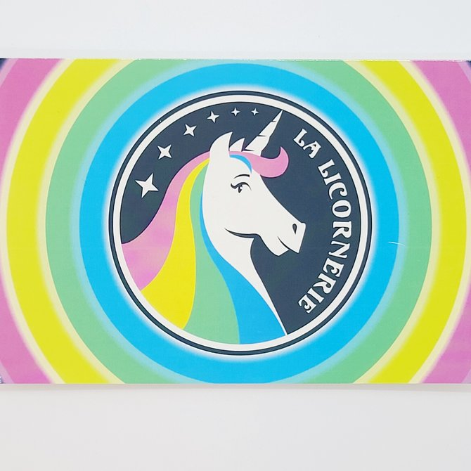 La Licornerie ♥♥ Carte Postale Licornesque