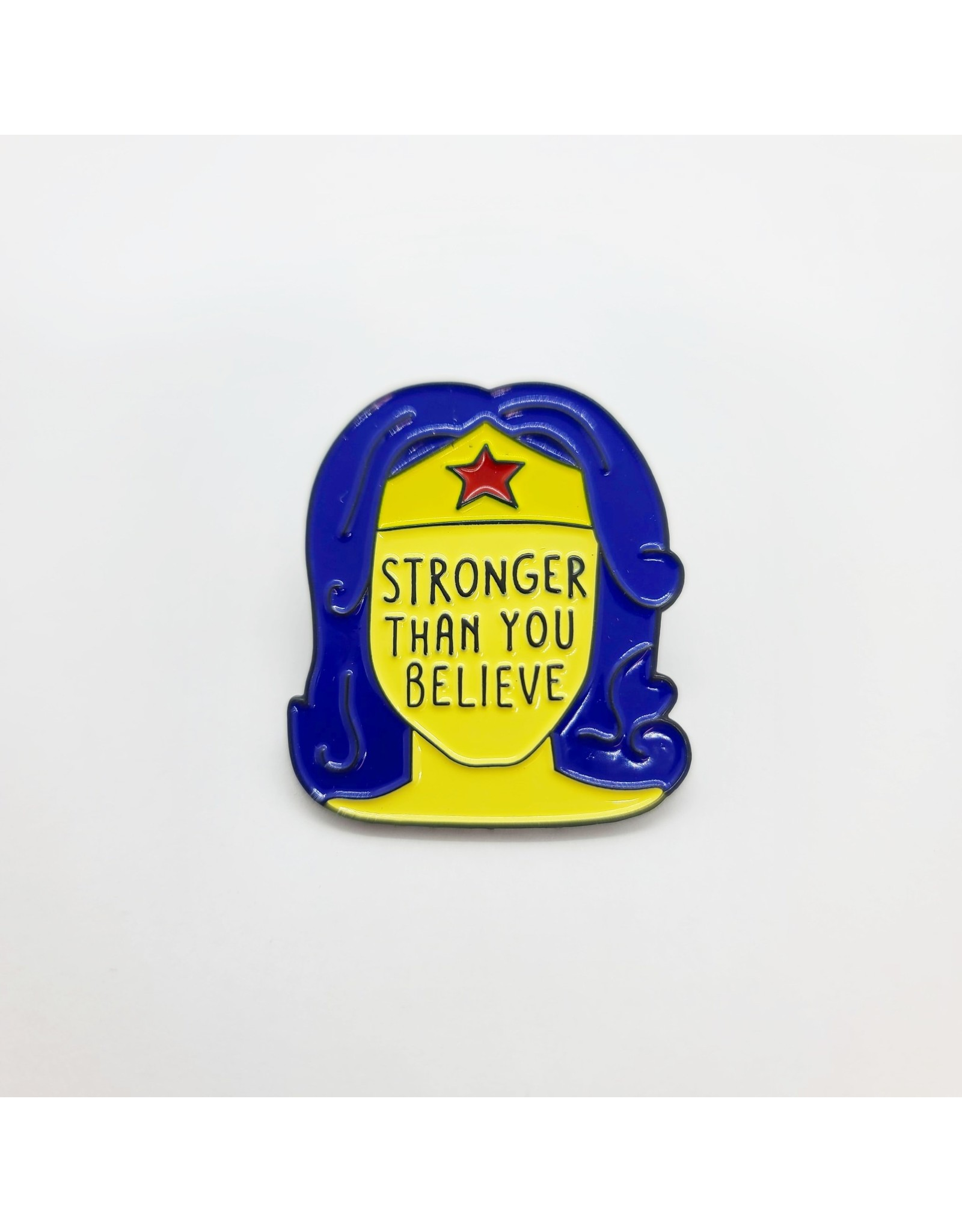 "Pin Wonder Woman ""Stronger Than You Believe"""