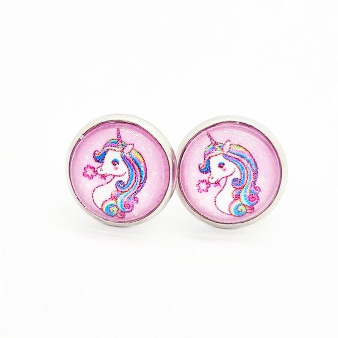 La Licornerie ♥♥ Boucles d'oreilles en acier inoxydable AJC