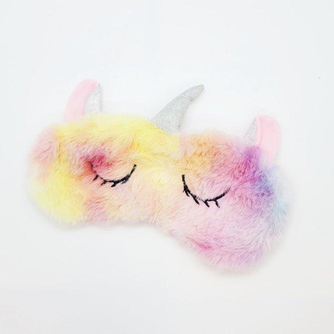 La Licornerie Masque de sommeil licorne soyeux