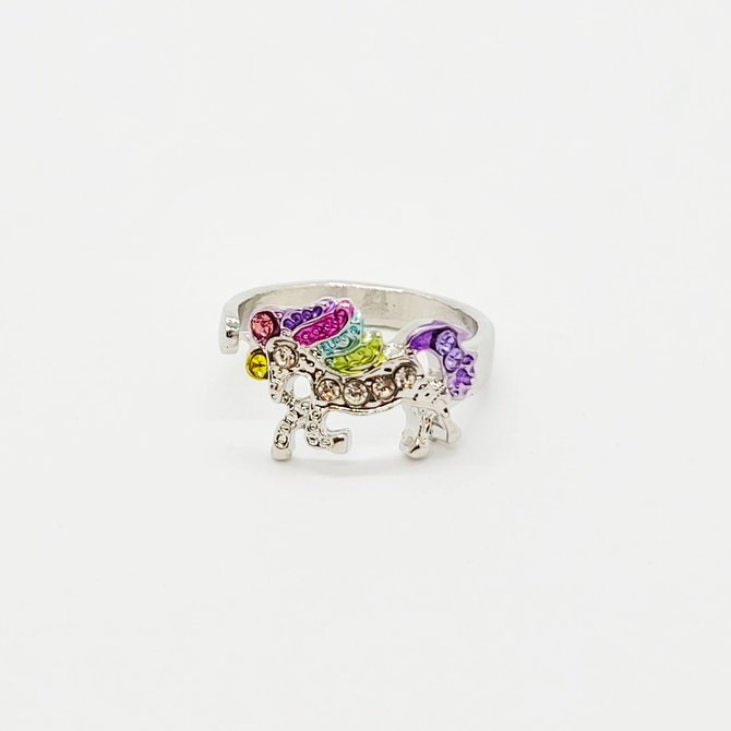 La Licornerie Adjustable Iron Unicorn Ring