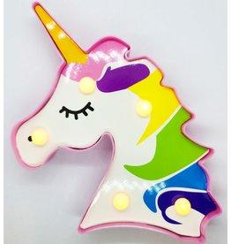 Lumière/Veilleuse Licorne Arc-en-Ciel LED