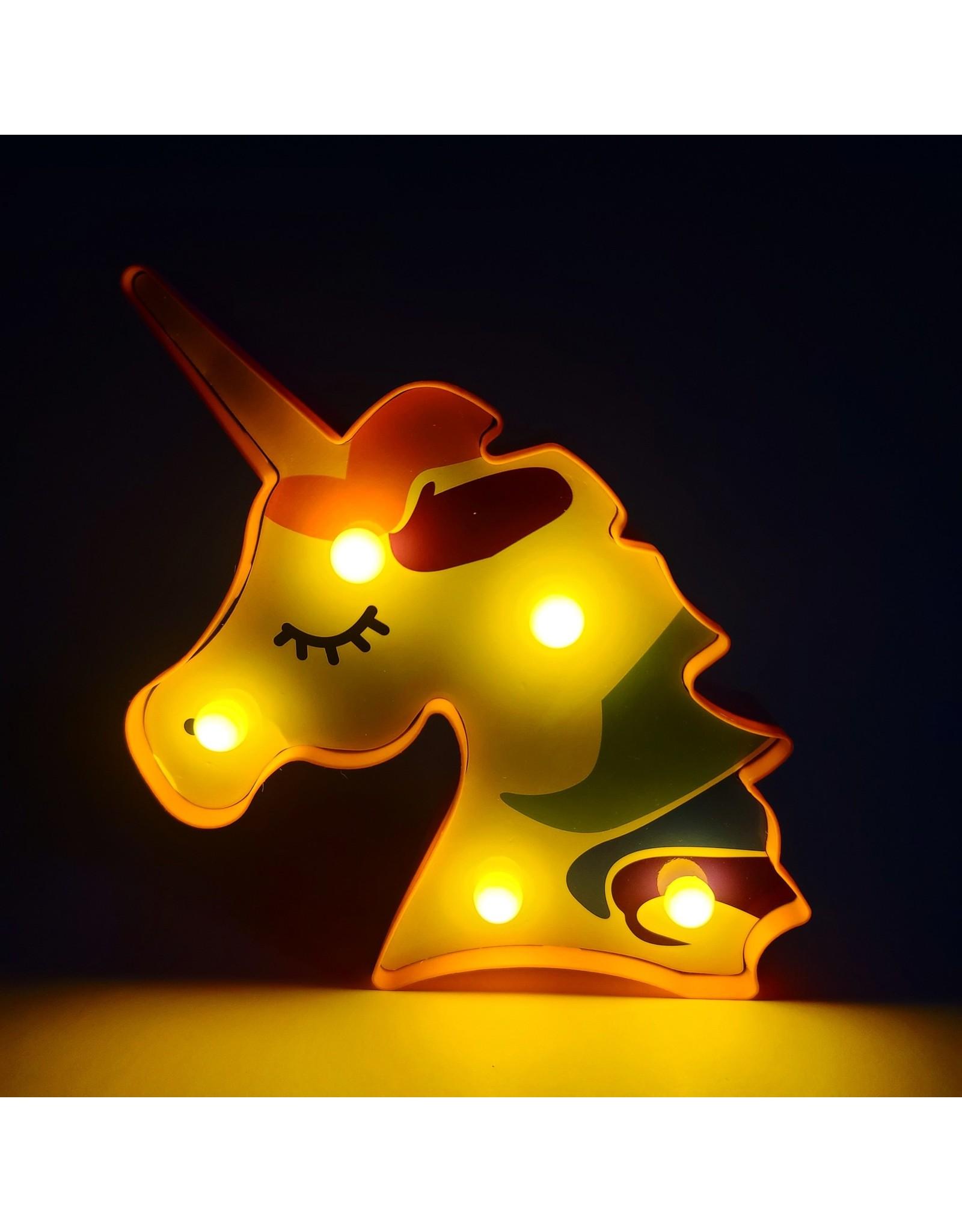 LED Rainbow Unicorn Night Light
