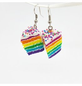♥♥ Stainless Steel Unicorn Cake Earings by LFG