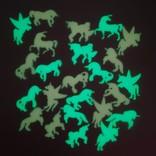La Licornerie Autocollants Licornes qui brillent dans le noir