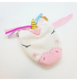 White and Pink Unicorn Coin-Purse