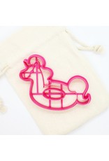 ♥♥  Rubber Belt/Unicorn Cookie Cutter made in Québec