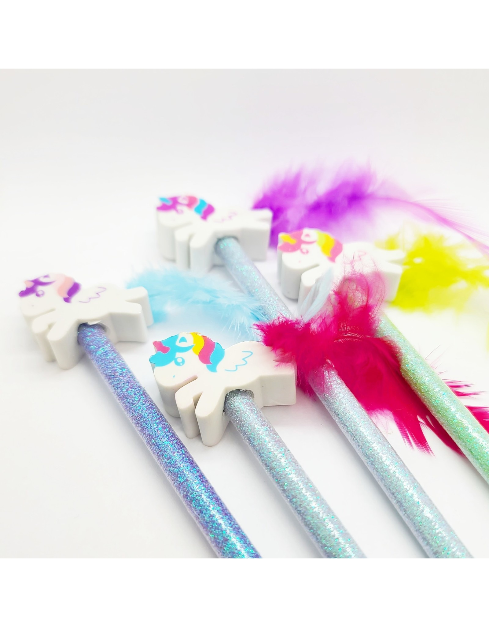 La Licornerie Quill-tailed Unicorn Pencil with Eraser