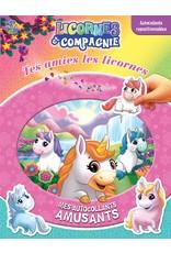 Livre Licornes et compagnie : Tes amies les licornes