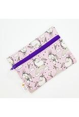 La Licornerie ♥♥ Petit sac à collation fait à la main