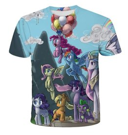 Balloons and Unicorn T-Shirt