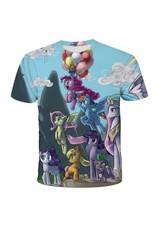 Balloons and Unicorn T-Shirt