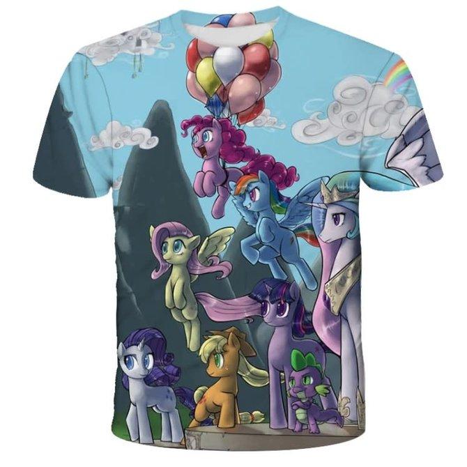 La Licornerie Balloons and Unicorn T-Shirt