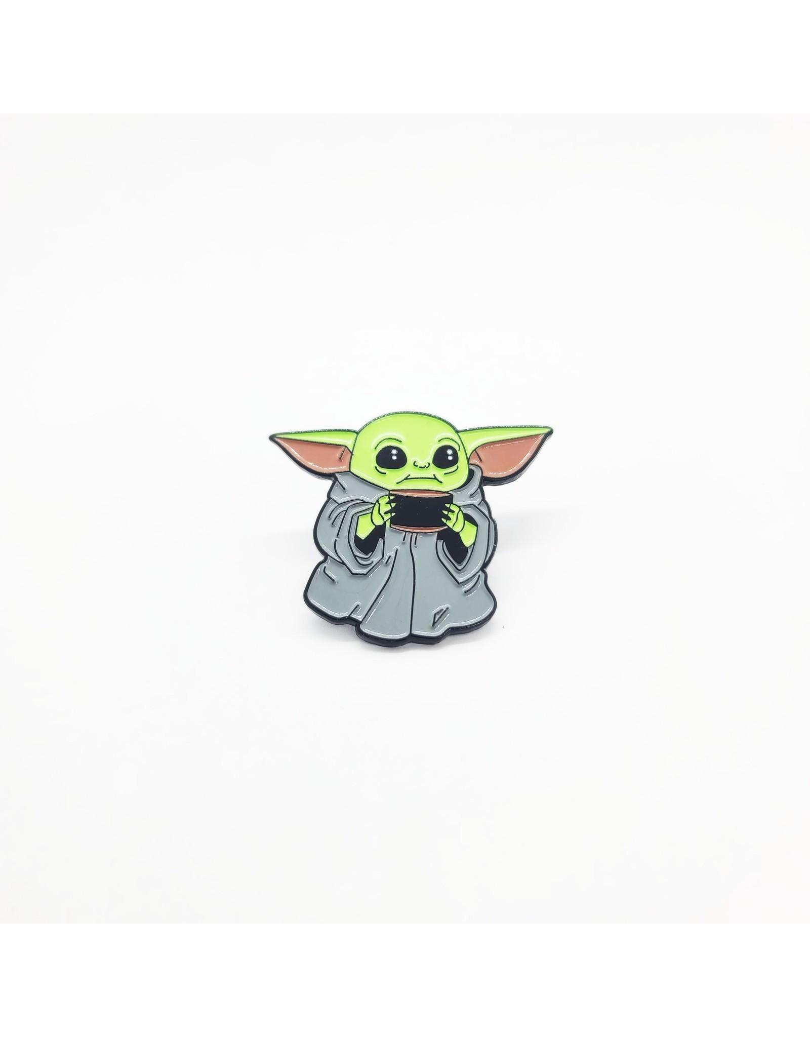 Épinglette Bébé Yoda en métal
