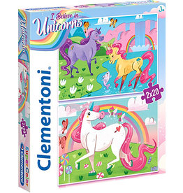 I believe In Unicorns 2 Jigsaw puzzles 20 pieces