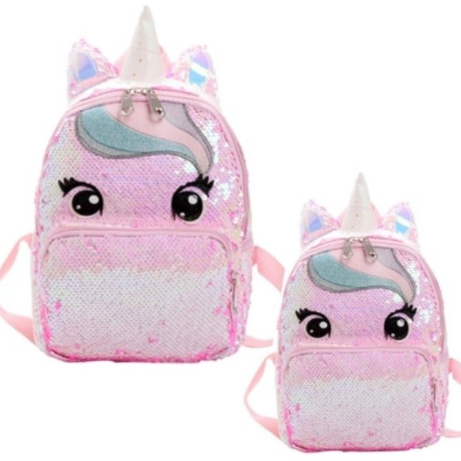 La Licornerie Candy sequined backpack (Large)