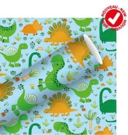 Dino Gift Wrapping Paper