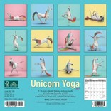 La Licornerie 2021 Calendar Unicorn Yoga (18 months!) Small Size