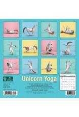 2021 Calendar Unicorn Yoga (18 months!) Small Size