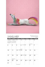 Calendrier 2021 (18 mois) Yoga Petit format