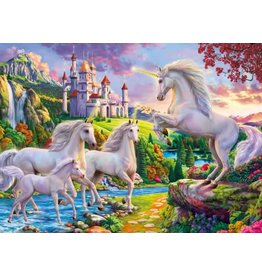 Unicorns and Castle Puzzle 1000 pieces