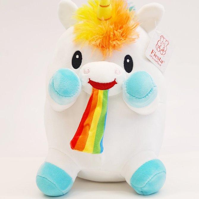 La Licornerie Rainbow Puking Unicorn Plushie