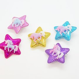 ♥♥ Starred Unicorn Double Brooch