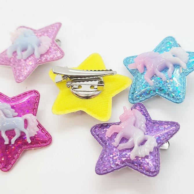 La Licornerie ♥♥ Starred Unicorn Double Brooch