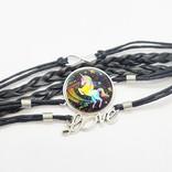 La Licornerie Bracelet tressé pendentif Licorne