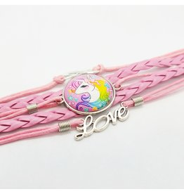 La Licornerie Braided Unicorn Bracelet