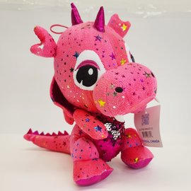 Caravan Softoys ♥♥ Glitter and Star Dragon Teddy Bear