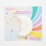 La Licornerie Rainbow-Diffusing Celestial Bath Bomb