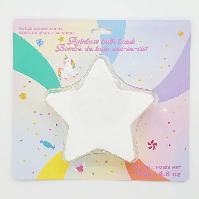 Rainbow-Diffusing Celestial Bath Bomb