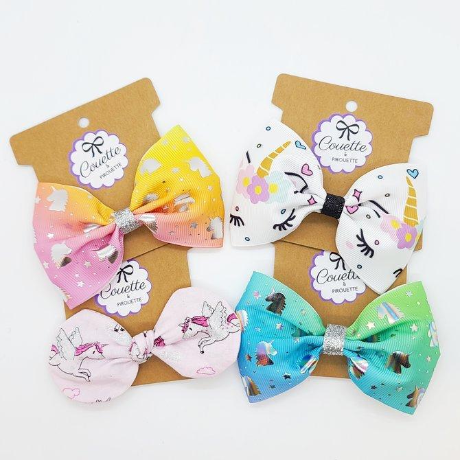La Licornerie ♥♥ Unicorn Bowtie Hairband 10cm