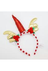 Unicorn-Xmas Reindeer Headband