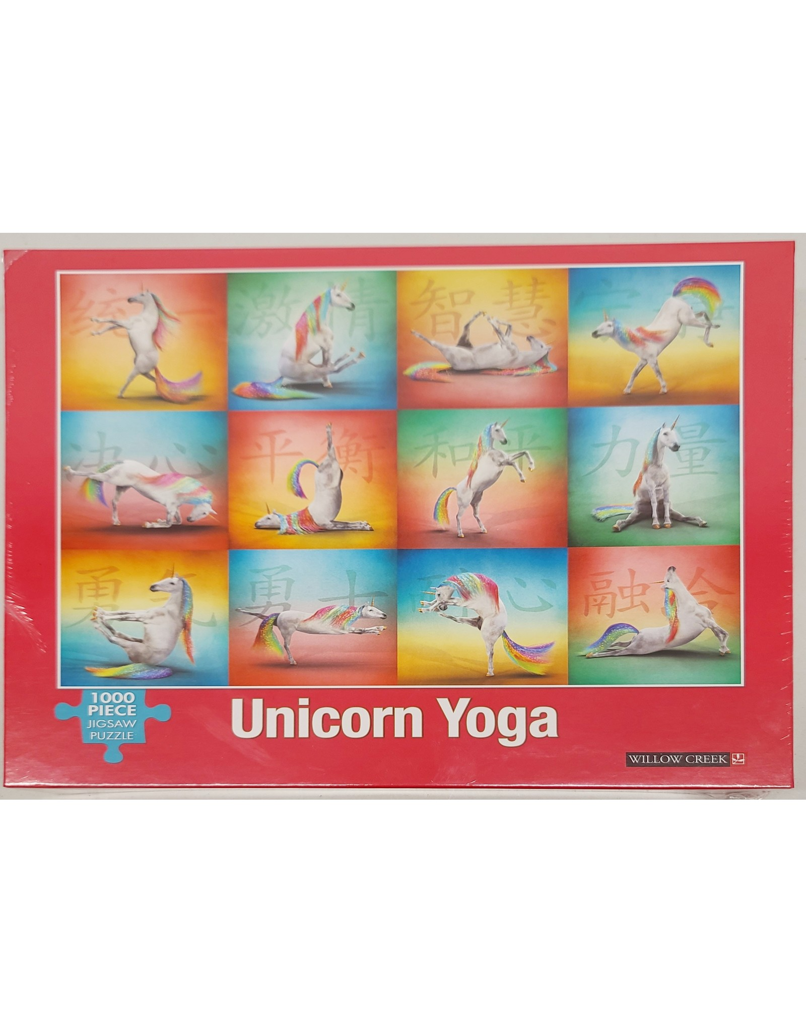 Unicorn Yoga Puzzle 1000 pieces