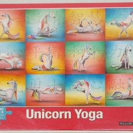Casse-tête 1000 morceaux Yoga Licorne