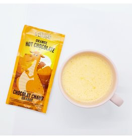 ♥♥ Dragon Orange colored Hot Chocolate Mix