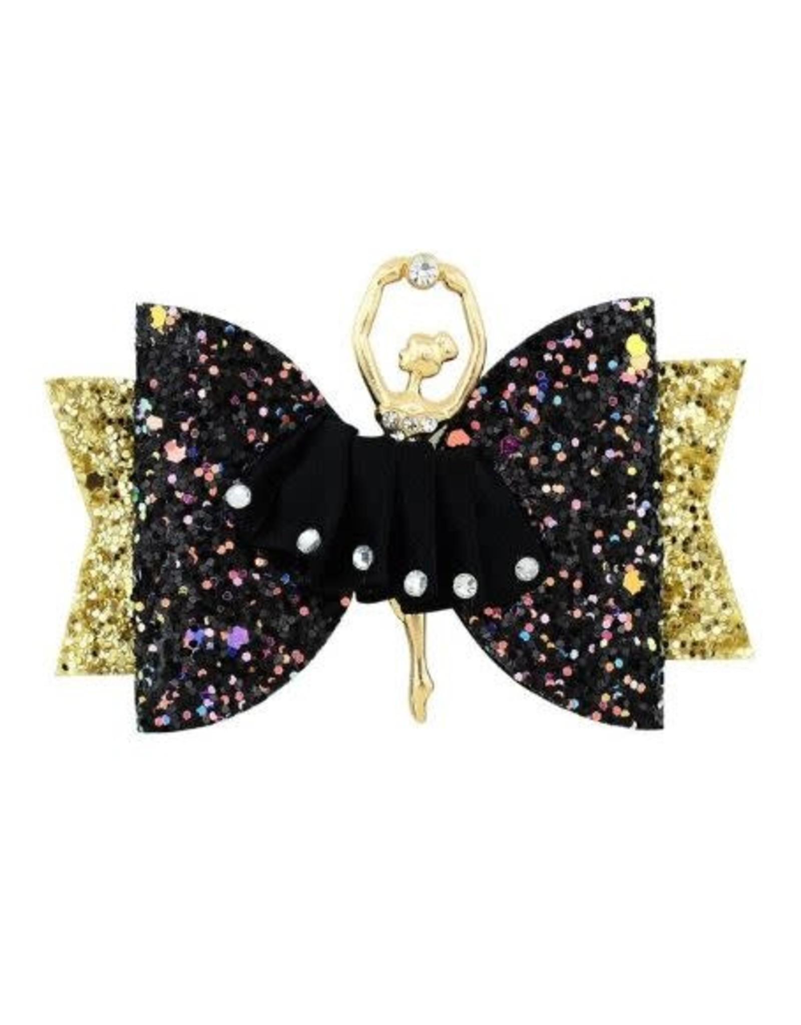La Licornerie Glittery Gator clip Hair Bowtie
