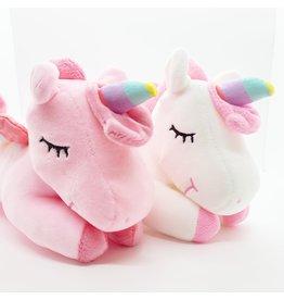 Laid down Sleeping Unicorn Teddy (25cm)