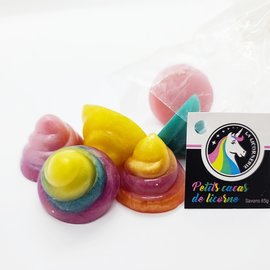 La Licornerie ♥♥ Bag of small unicorn poops (Rainbow Soaps)