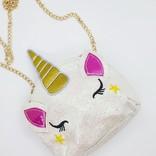 La Licornerie Glittered handbag